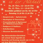 Die Volkacher Weihnachtsstrasse am 1. Advent 26.&27. November